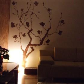drzewko szczęścia własnoręcznie malowane