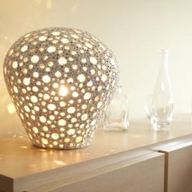 Lampa Ceramiczna imitująca gąbkę morską