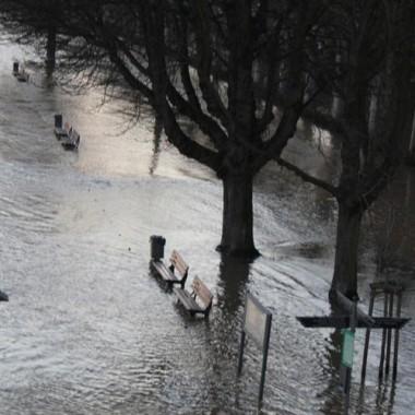 A tak w tamtym roku rzeka we Frankfurcie wylala:(
