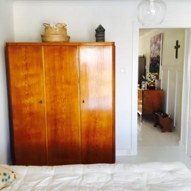 Dobudowana sypialnia