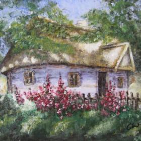 Obrazy...tak maluje mój Nikifor...