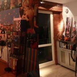 Pokój dla nastolatka/nastolatki z nowoczesnym wykonaniem , klinkierem i fototapetą !