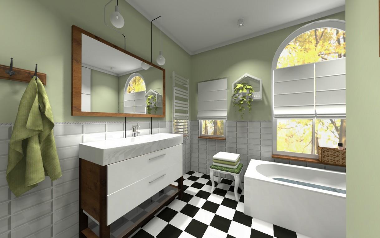 Zdjęcie 78 W Aranżacji łazienka W Kamienicy Styl