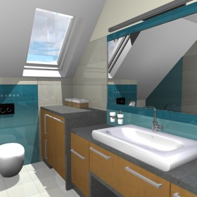 Łazienka w dwóch (i pół) odsłonach