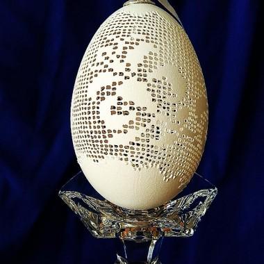 haft krzyźykowy - jajko gęsie