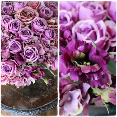 Śliczne nowe kompozycje ze sztucznych kwiatów, którymi oczarujesz gości i domowników. Polecamy się najbardziej wymagającym Paniom Domu: tendom.pl