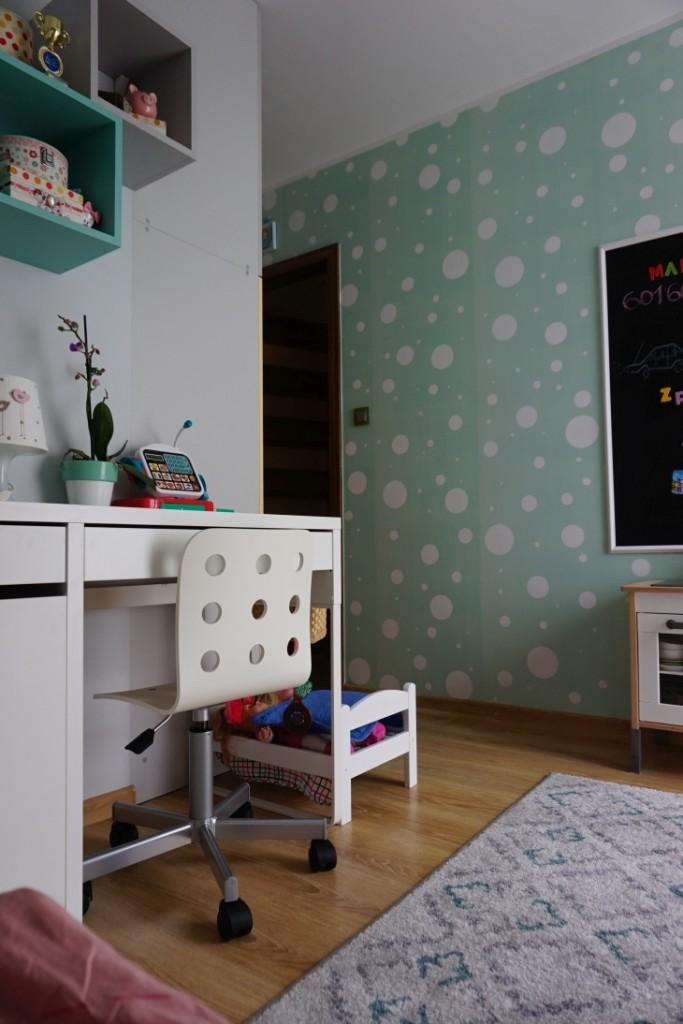Pokój dziecięcy, 11m2 po tuningu, czyli pokój dla ucznia i jego młodszej siostry