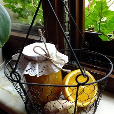 kolejny efekt moich wczorajszych zmagan jablkowo-pomaranczowych