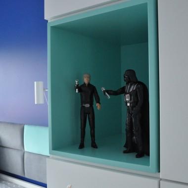Pokoj dla chłopca w klimacie Star Wars