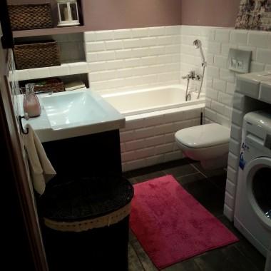 łazienka 4osobowej rodziny:)