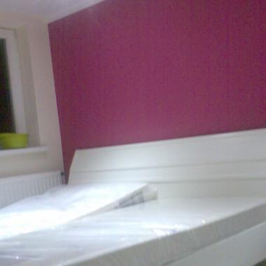 sypialnia..nowe łózko