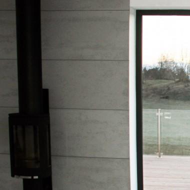 Aranżacje w stylu minimalistycznym z betonem Luxum