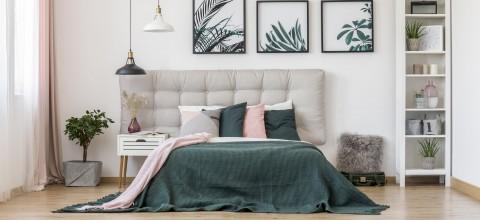 Stylowa sypialnia - pomysły na zagłówki