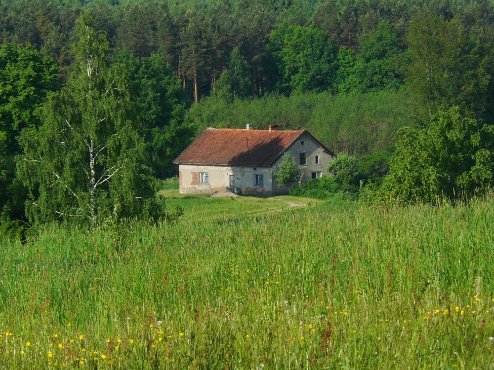 Realizacje, Widoki z Wonnego Wzgórza - najbliższy sąsiad 1 km od nas.