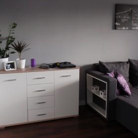 Salon w fiolecie