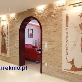 Kamyczki dekoracyjne na ścianę, płaskorzeżby