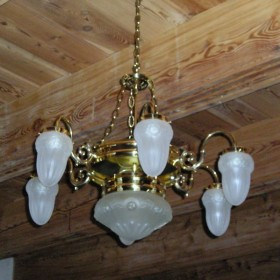 Renowacja i naprawa starych lamp elektrycznych!