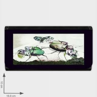 portfele z wydrukami moich grafik cyfrowych