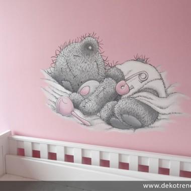artystyczne malowanie ścian, malowidła ścienne, malunki na ścianie, pokój dziecięcy, pokój dla dziecka, pokój dla dziewczynki, pokój dla chłopca, pokój dla dziewczynki, dekoracja ścian, Tatty Teddy