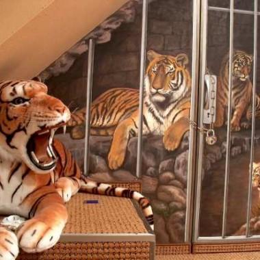 tygrysy w sypialni :)
