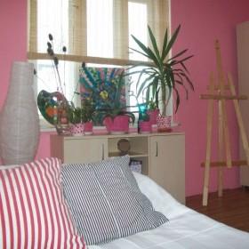 Mój różowy (z przypadku) pokój :)