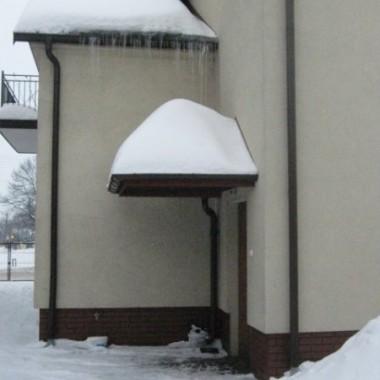 Śnieżny domek