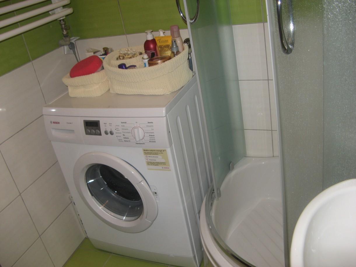 Zdjęcie 34 W Aranżacji Nasza Mała Zielono Biała łazienka