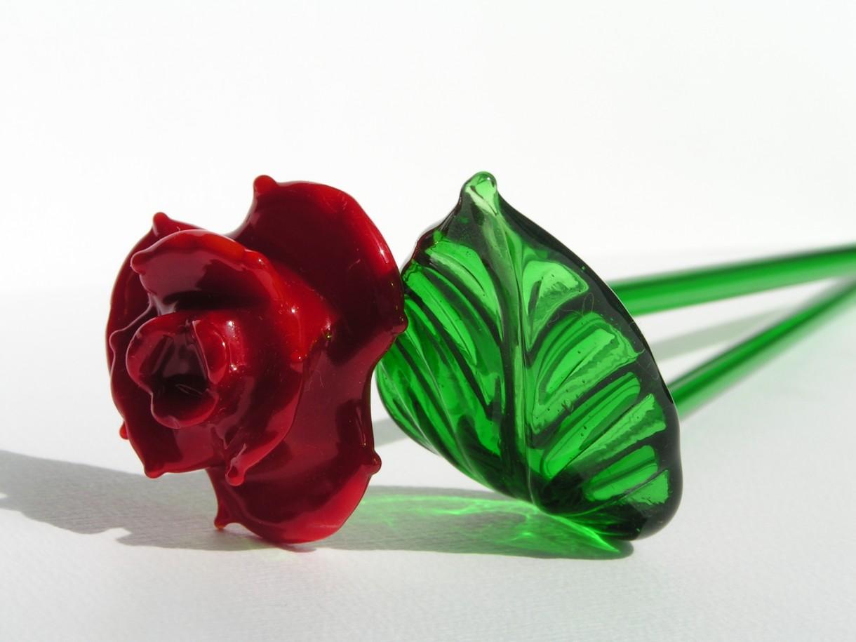 Róża Mdina Glass