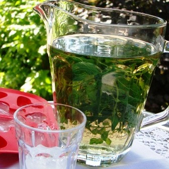 miętowa herbatka z lodem - hit lata