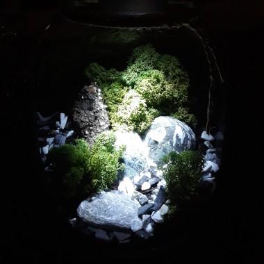 """Lasy, a raczej zielone aranżacje w szkle pochłonęły mnie bez reszty. Bardzo ładnie zdobią dom w """"okresie przejsciowym"""". Zatem zapraszam do fotogalerii - moja martwa natura w szkle."""