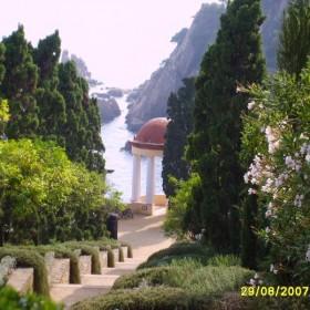 Ogród botaniczny w Blanes,Costa Brava