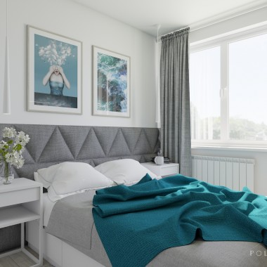 Sypialnia - mieszkanie Gdańsk