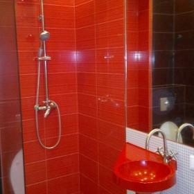 Łazienka - z niej powstała garderoba i łazienka