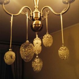 Powoli dom zapełnia się świątecznymi dekoracjami............