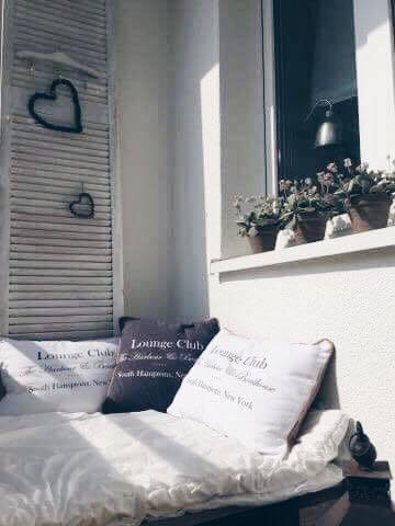 Balkon, balkon wiosennie