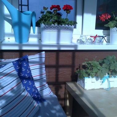 Balkon prawie skończony -)