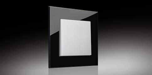 Instalacje, Inteligentny dom KNX - Ekskluzywny przycisk z serii LS+ firmy JUNG.