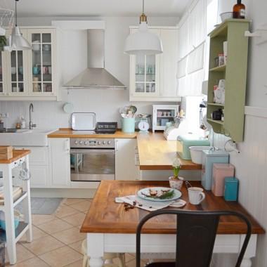 ROOM TOUR- kuchnia, jadalnia, salon.