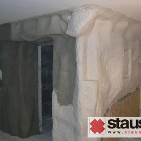 STAUSS siatka ceglana w Saunach, SPA & Wellness -