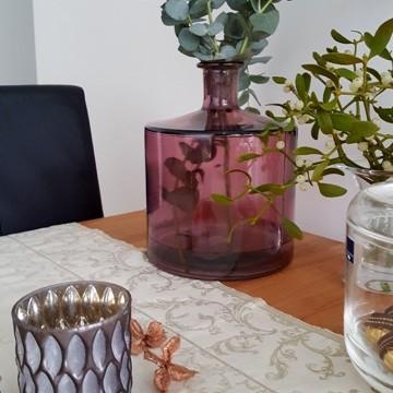 Pozbylam sie TV ze stolu Na jego miejsce niewielka dekoracja &#x3B;)