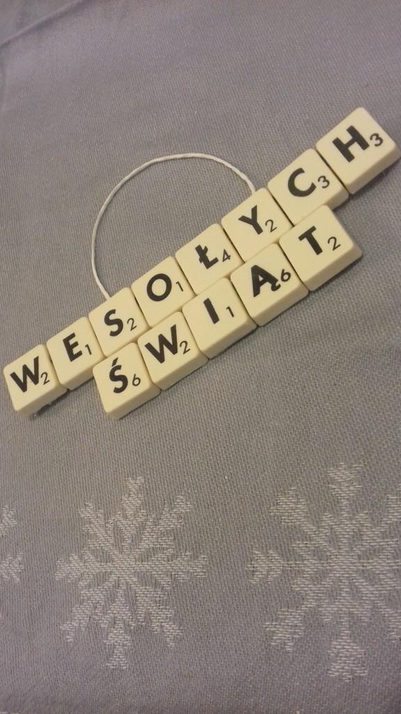 Dekoracje, DIY Scrabble inaczej