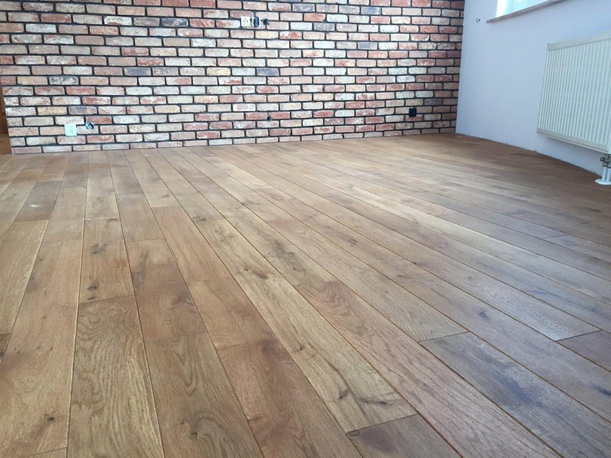 Podłogi drewniane - w realizacji