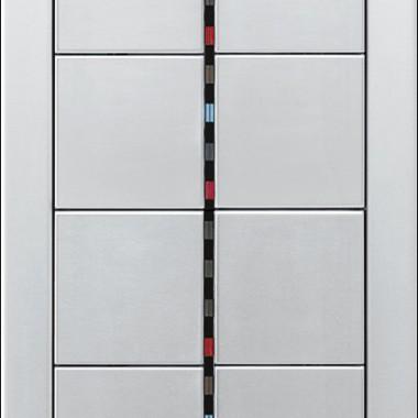 Panel z 8-oma przyciskami, diodami sygnalizacyjnymi, z aluminium.