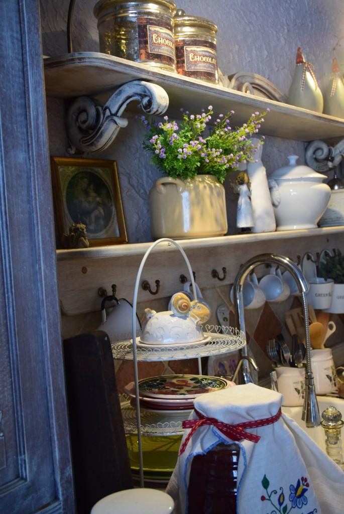 Kuchnia, Kuchnia bardziej...vintage :) - look na część roboczą :)