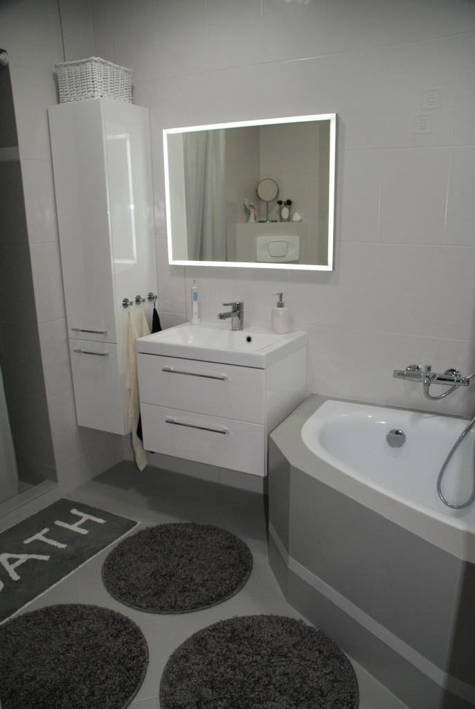 Łazienka, Metamorfoza łazienki w kilka dni.