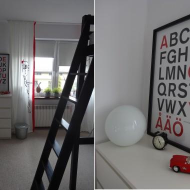 Metamorfoza pokoju syna:)
