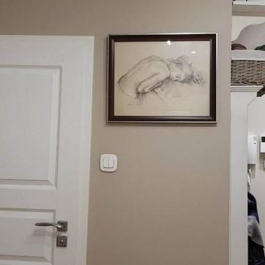 Okazyjnie udało nam się kupić fajne mieszkanie. Jak to zwykle w bajkach bywa, za dotknięciem pędzlem ścian, wszystko zaczęło się komplikować... Okazało się, że zwykłe przemalowanie mieszkania to mega wyczyn bo po ściągnięciu taśmy malarskiej farba odchodzi płatami razem ze ściną. Czyli mieszkanie nigdy nie poczuło gruntu... Z racji tego że jesteśmy młodym małżeństwem i nie zdecydowaliśmy się na remontowy kredy... co jakiś czas robimy metamorfozy jednego z pomieszczeń:) Miłego oglądania!