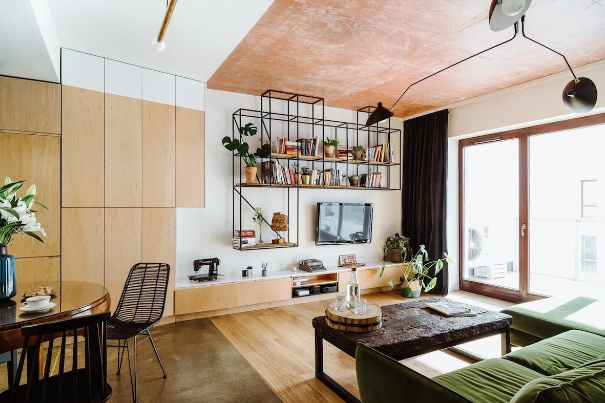 Domy i mieszkania, Mieszkanie na Mokotowie