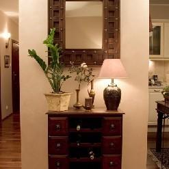 Dekoracje ścian- nad komodami, konsolami - inspiracje