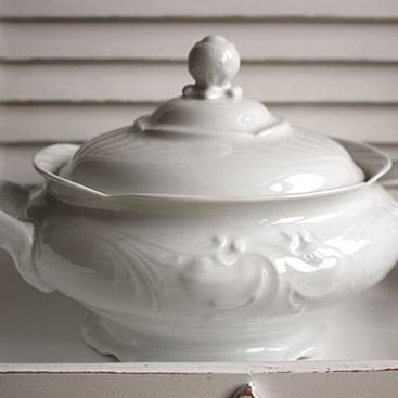 Biała ceramika, biała porcelana...